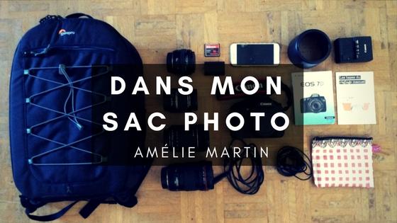 DANS MON SAC PHOTO avec AMÉLIE MARTIN