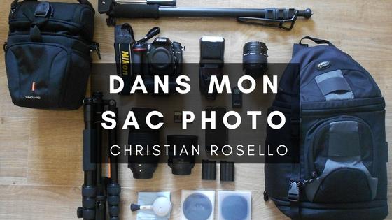 DANS MON SAC PHOTO avec CHRISTIAN ROSELLO