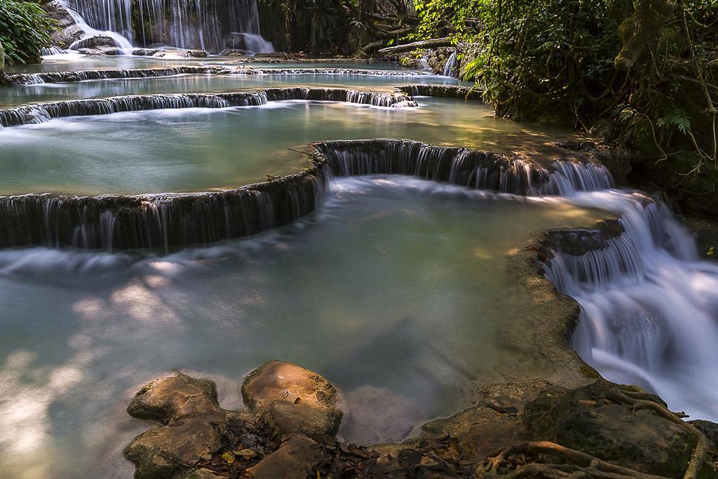Les cascades naturelles de TAD KUANG SI